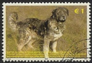 United Nations - Kosovo - # 49 - Dog - used