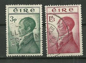 1953 Ireland 149-50 Robert Emmet Execution 150th Ann. C/S used