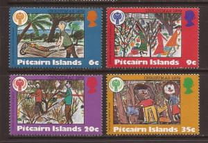 Pitcairn Islands scott #188-91 m/nh stock #14283