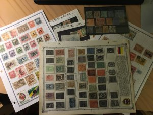 Collection of Colombia, 350+ stamps
