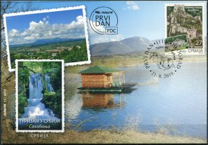 Serbia 2019. City of Sokobanja (Mint) First Day Cover