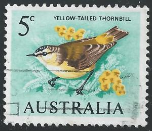 Australia #400 5c Bird - Yellow-tailed Thornbill