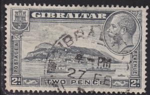 Gibraltar 98 USED 1932 Rock of Gilbraltar