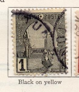 Tunisia 1906 Early Issue Fine Used 1c. 252033