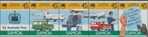 Samoa 1988 SG768-772 Australia Bicentenary set MNH