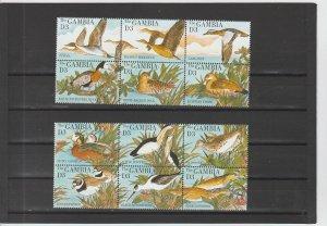 Gambia  Scott#  1617a-1617l  MNH  (1995 Water Birds)
