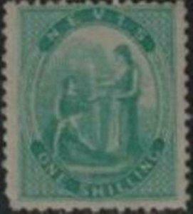 Nevis 1861 SC 8 Mint