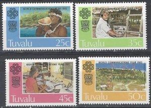 Tuvalu 212-5  MNH ITU World Communications Year 1983