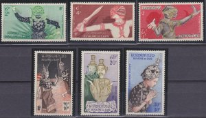 Laos C14-C19 MNH (1955)