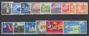 Trinidad & Tobago, Scott 89-102, 116 (SG 284-297), MLH/HR