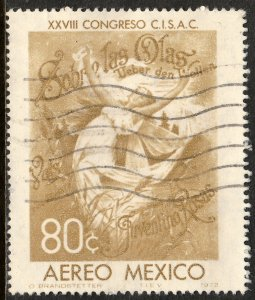 MEXICO C407, Soc of Authors and Composers Intl Congr. Used. F-VF. (212)