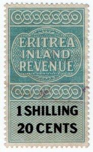 (I.B) BOIC (Eritrea) Revenue : Inland Revenue 1/20c
