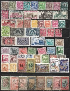 COLLECTION LOT OF 63 TUNISIA 1934+ STAMPS