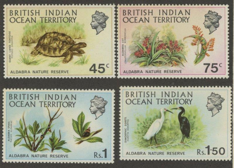 British Indian Ocean Territory 39-42 * mint hinged (2107 273)