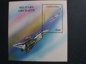 TANZANIA-1993 SC#1086 75TH ANNIVERSARY OF ROYAL AIR FORCE-S/S MNH-VERY FINE