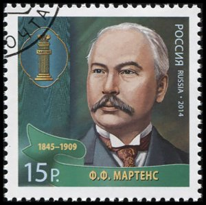 Russia. 2014. F. F. Martens (1845-1909) (CTO) Stamp