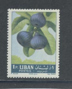 Lebanon 393  F-VF  MHR