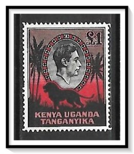 Kenya Uganda Tanganyika (KUT) #85 KG VI & Lion MH