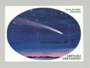 Grenada Grenadines #913 Halley's Comet 1v S/S Imperf Proof