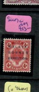 MALAYA KEDAH   (PP2204B)  MBE 4C SG 47C      MOG