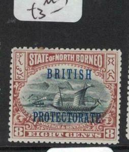 North Borneo SG 133a MOG (7duy)
