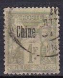 1894 France Offices in China Scott 11 Peace aand Commerce used