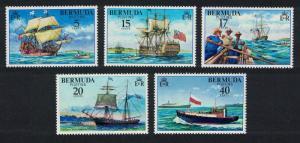 Bermuda Ships Piloting 5v SG#379-383