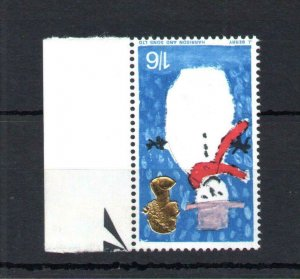 1/6 CHRISTMAS 1966 (NON-PHOSPHOR) UNMOUNTED MINT WITH WATERMARK INVERTED Cat £30