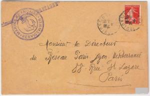 BOATS - FRANCE - POSTE MILITAIRE \ MILITARY POST - Battleship BRETAGNE 1915
