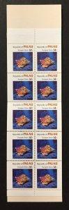 Palau 1985 #75a Booklet, Marine Life, MNH.