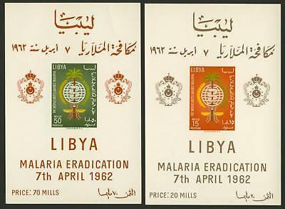Libya 218a-9a MH Malaria Eradication, Insects