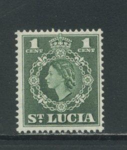 St. Lucia 157  MVLH cgs
