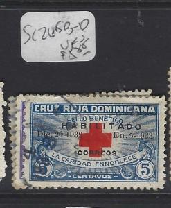 DOMINICAN REPUBLIC (P1010B)  SC 265B-D       VFU