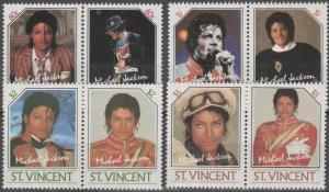 St Vincent #894-7  MNH F-VF  CV $6.70 (SU1444)