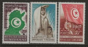 Tunisia 317-319.[h]
