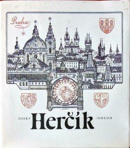 Josef Herčík - A most attractive little book - Czechoslovakia Stamp Engraving
