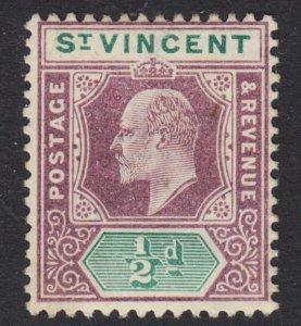 St. Vincent Scott 71 wtmk CA F+ mint OG H.