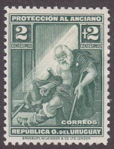 Uruguay B2 Indigent Old Man 1930