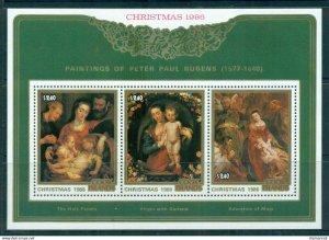 Cook Islands 1986 Scott 922 Christmas S/S  MNH