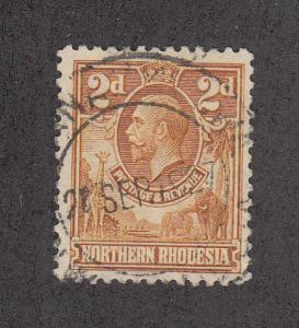 Northern Rhodesia Scott #4 Used