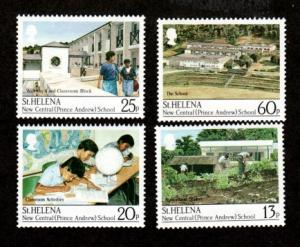 St Helena 511-514 Mint NH MNH New Central School!