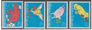 Liechtenstein Scott #1025-1028 Stamps - Mint NH Set