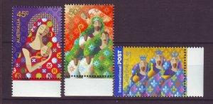 J23904 JLstamps 2004 australia set mnh #2316-8 christmas