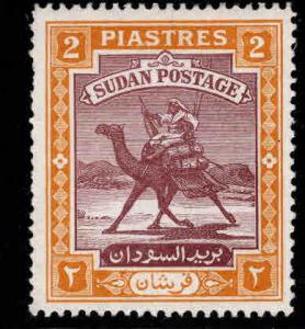 SUDAN Scott 86 MH* 1948 Camel Post with new inscription 1948 CV$9