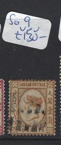LABUAN (P2309B)  QV CAMEO  10C   SG 8     VFU