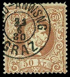 AUSTRIA 40b  Used (ID # 64470)