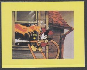 Grenada Grenadines 359 Disney's Souvenir Sheet MNH VF