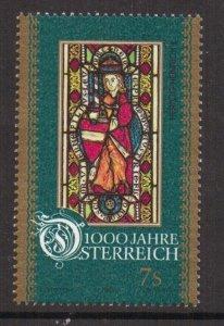 Austria    #B1710c  MNH  1996  Austria millennium  7s   Duke henry II