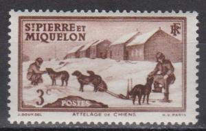 St Pierre & Miq #173 F-VF Unused (B7140)