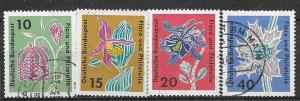 Germany #857 Flowers (U) CV $1.00